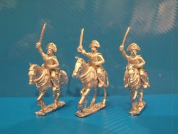 Spanish Dragoons in Bicorne Charging