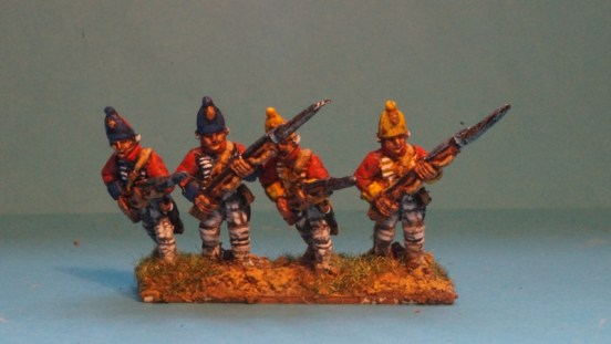 Grenadiers Advancing