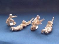 Syrian Commandos HMG Team