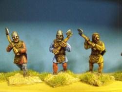 Viking Axemen in Furs