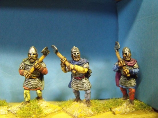 Viking Axemen in Chainmail