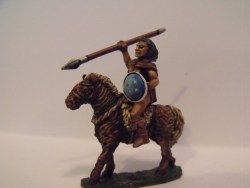 Witchcult Warrior on Wicker Horse - with Spear I