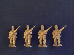 Infantry at Ready in Glengarry