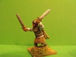 Dwarf - Advancing, Two Swords