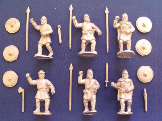 Viking Swordsmen/Spearmen in Tunics