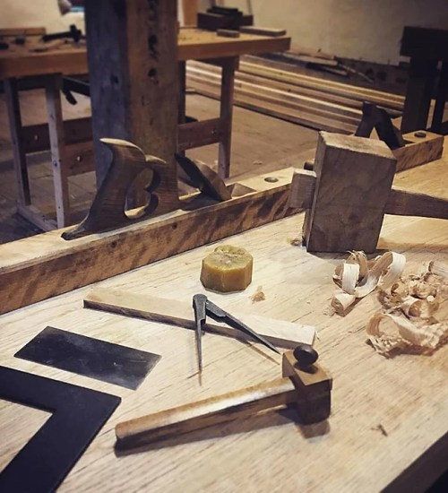 The tools of the trade for the Millwright's Shop