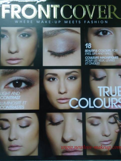 Frontcover Cosmetics True Colours Kit Review, Swatches