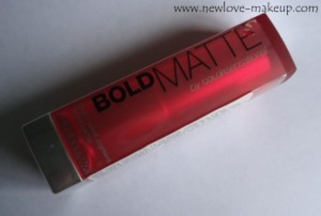 Maybelline Bold Matte Colorsensational Lipstick Mat 2 Review, Swatches