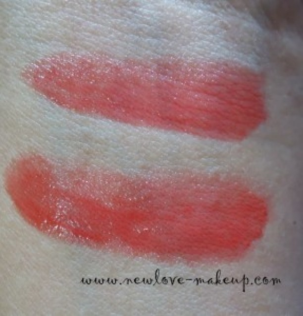 Etude House Sweet Recipe Dear My Jelly Lips talk in JOR 203 Review, Swatches