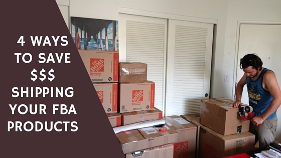 4 Ways To Save Money Shipping Your FBA Products