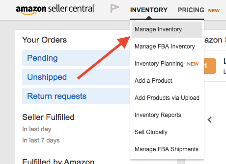 Step1 (Manage Inventory)