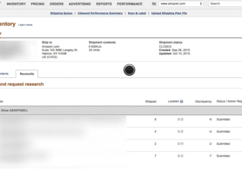 <center><b> {VIDEO} How To Easily Reconcile Inbound Amazon FBA Shipments &#038; Get Reimbursed! </b></center>