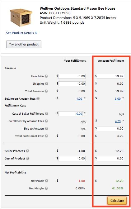 Using The Amazon Revenue Calculator To Determine Private Label Profitability