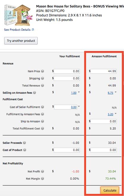 Using the Amazon Revenue Calculator To Determine Private Label Products Profitability