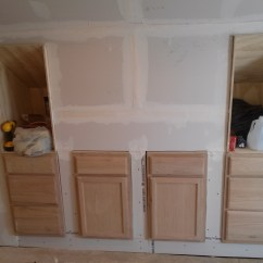 Building Kitchen Wall Cabinets Remodeling Walls In A Barn Apartment