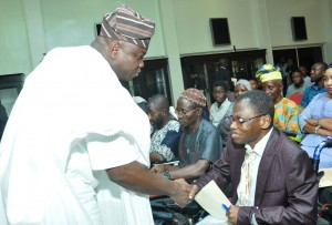 Image result for Ambode inaugurates Governing Board for Disability Affairs