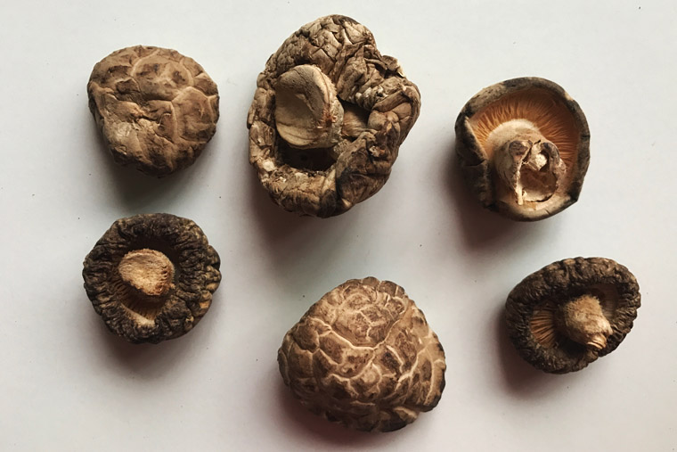 Dried Chinese Mushrooms (Shiitake Mushrooms)