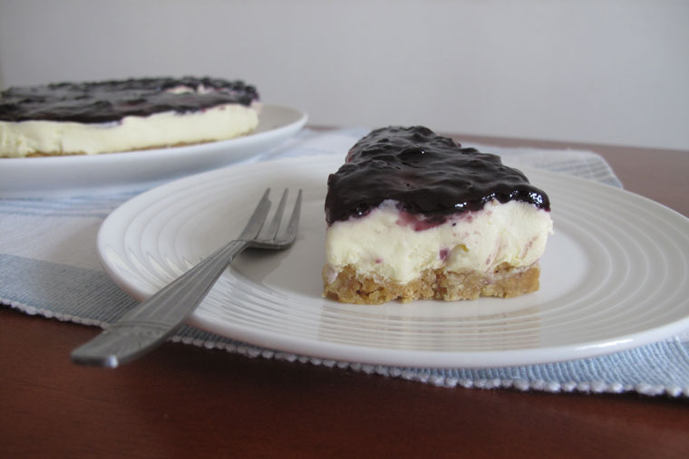 Easy Blueberry Cheesecake – 30 Min + No-Bake