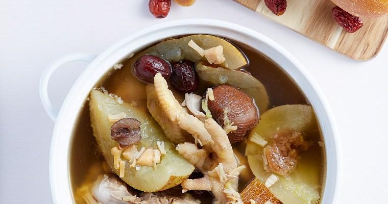 Old Cucumber Soup (Lou Wong Kua Tong/ 老黃瓜湯)