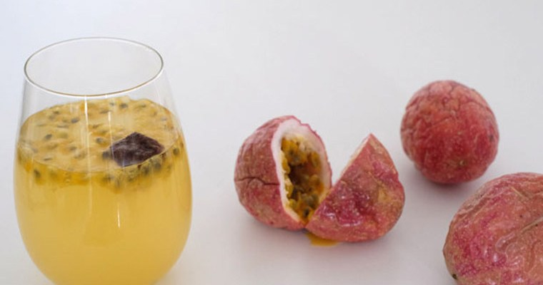 Passion Fruit & Plum Drink