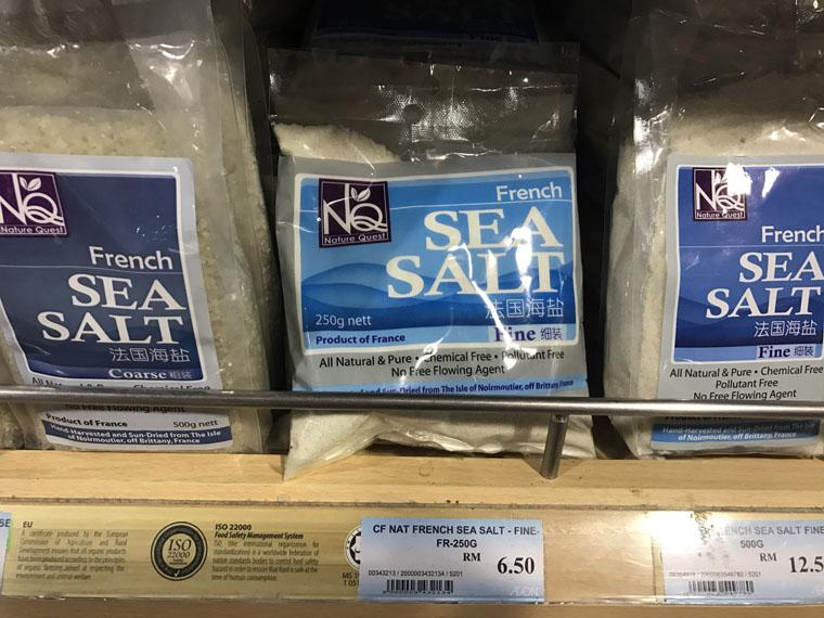 How is sea salt different from regular table salt?