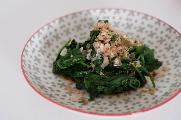 Japanese Spinach Salad (Ohitashi) – 4 ingredients + 5 min