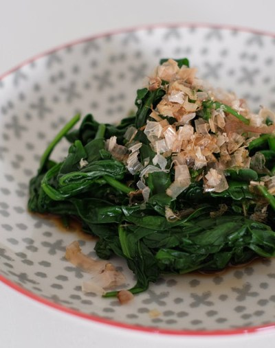 Japanese Spinach Salad (Ohitashi) – 4 ingredients + 5 min