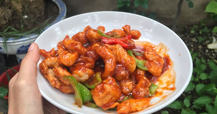 Crispy Sweet & Sour Pork (Gu Lou Yuk/ 咕噜肉)