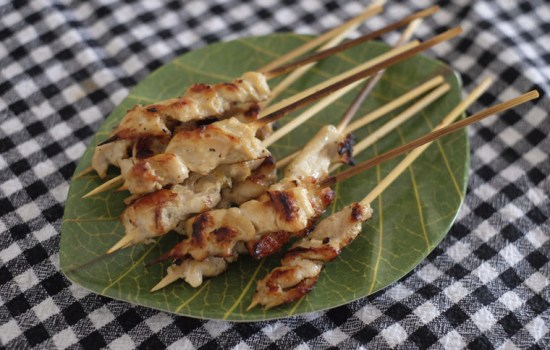 Thai Lemongrass Chicken Satay