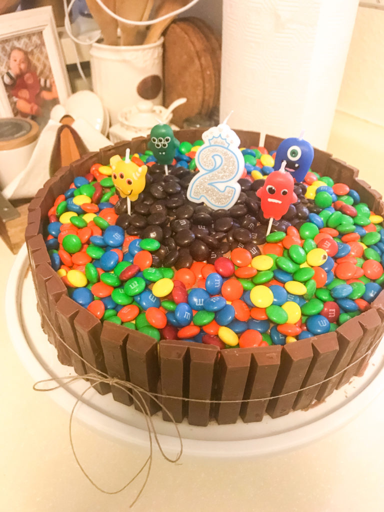 Home Made Birthday Cake Welcome