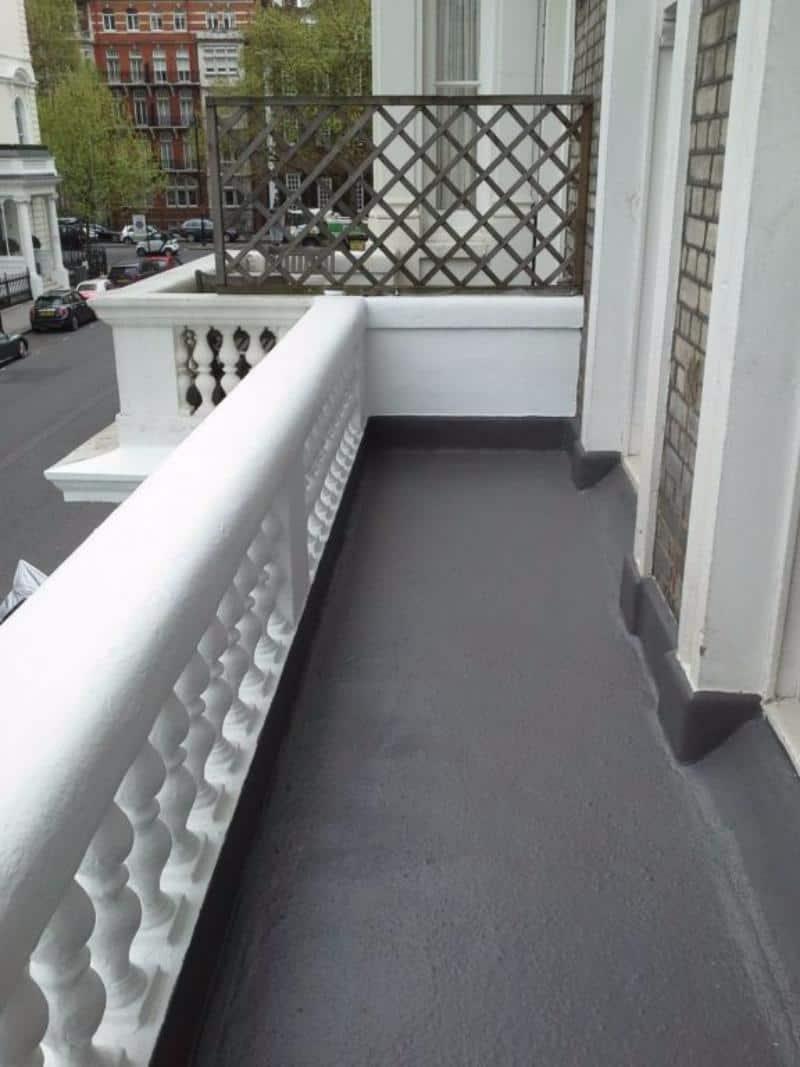 Balcony Walkway  Step Waterproofing  Newman Building