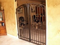 Interior Wrought Iron Gates. interior wrought iron metal