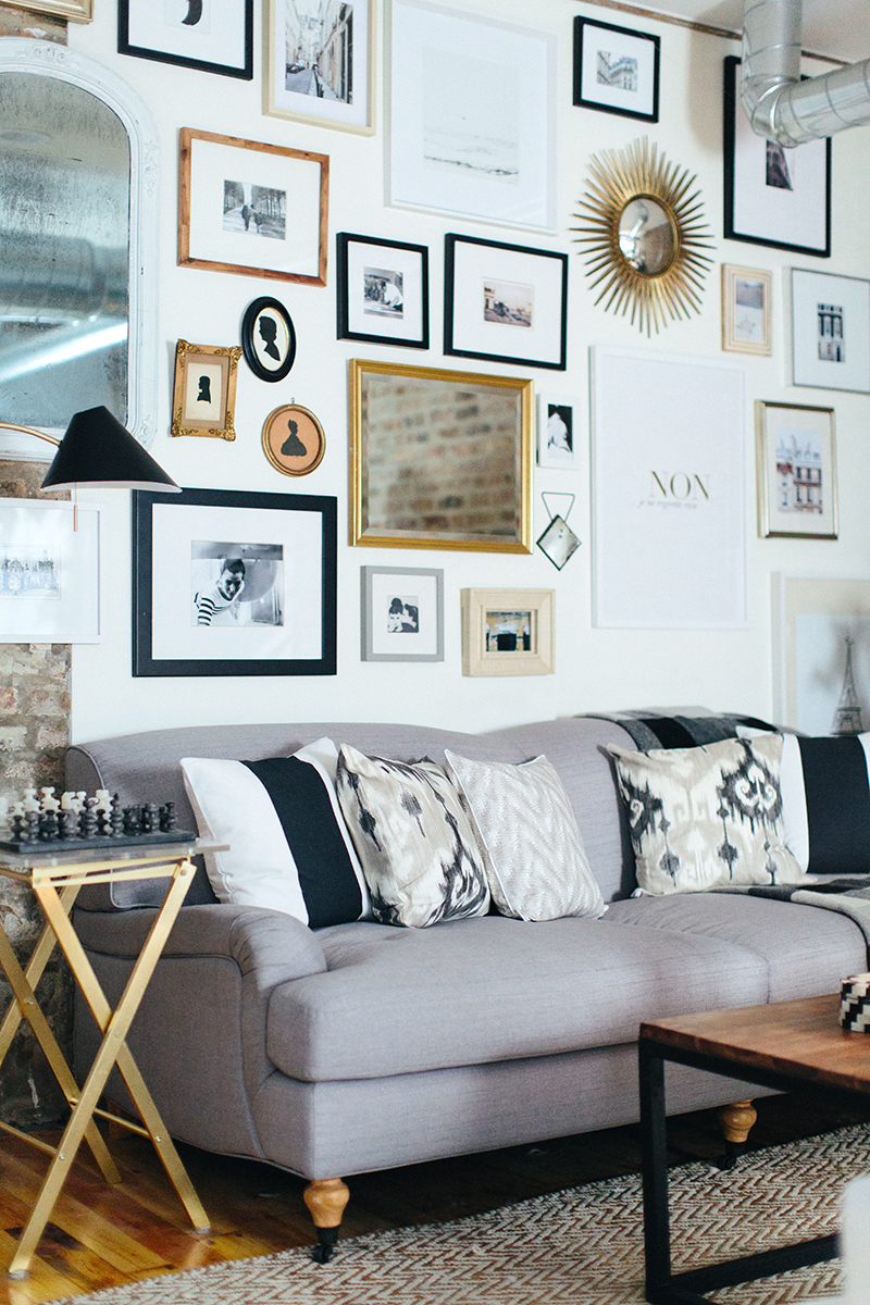 The Cofoundersu0027, Alaina And Danielle, Have A Beautiful Light And Modern  Loft In Chicago. I Love The Mix Of Textures And Use Of Neutral Colors!