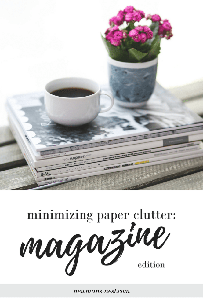 issuu magazines, digital magazines, reducing paper clutter