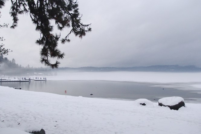 McCall, Idaho, Winter, Frozen Lake