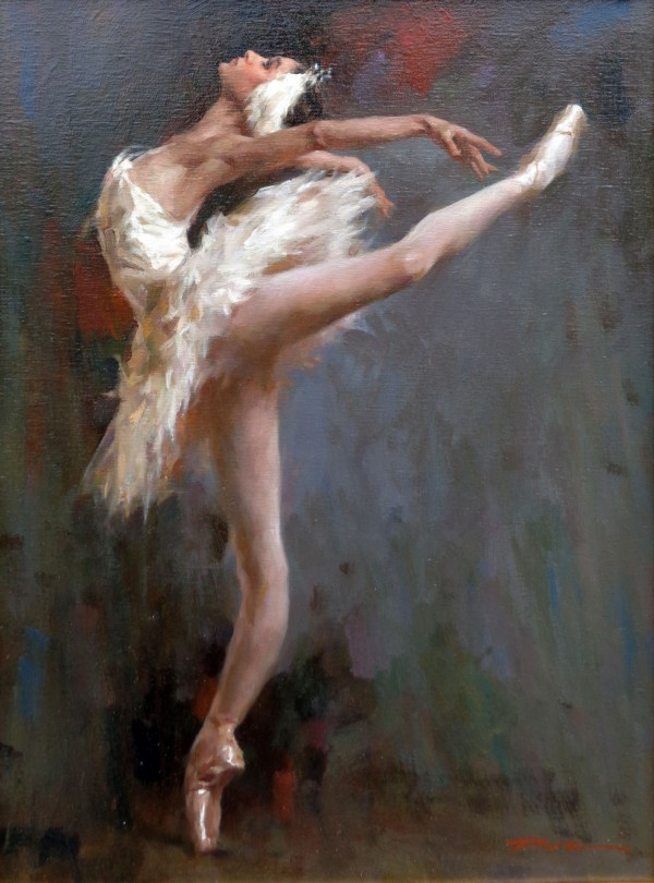 Stephen Pan Painting Ballerina