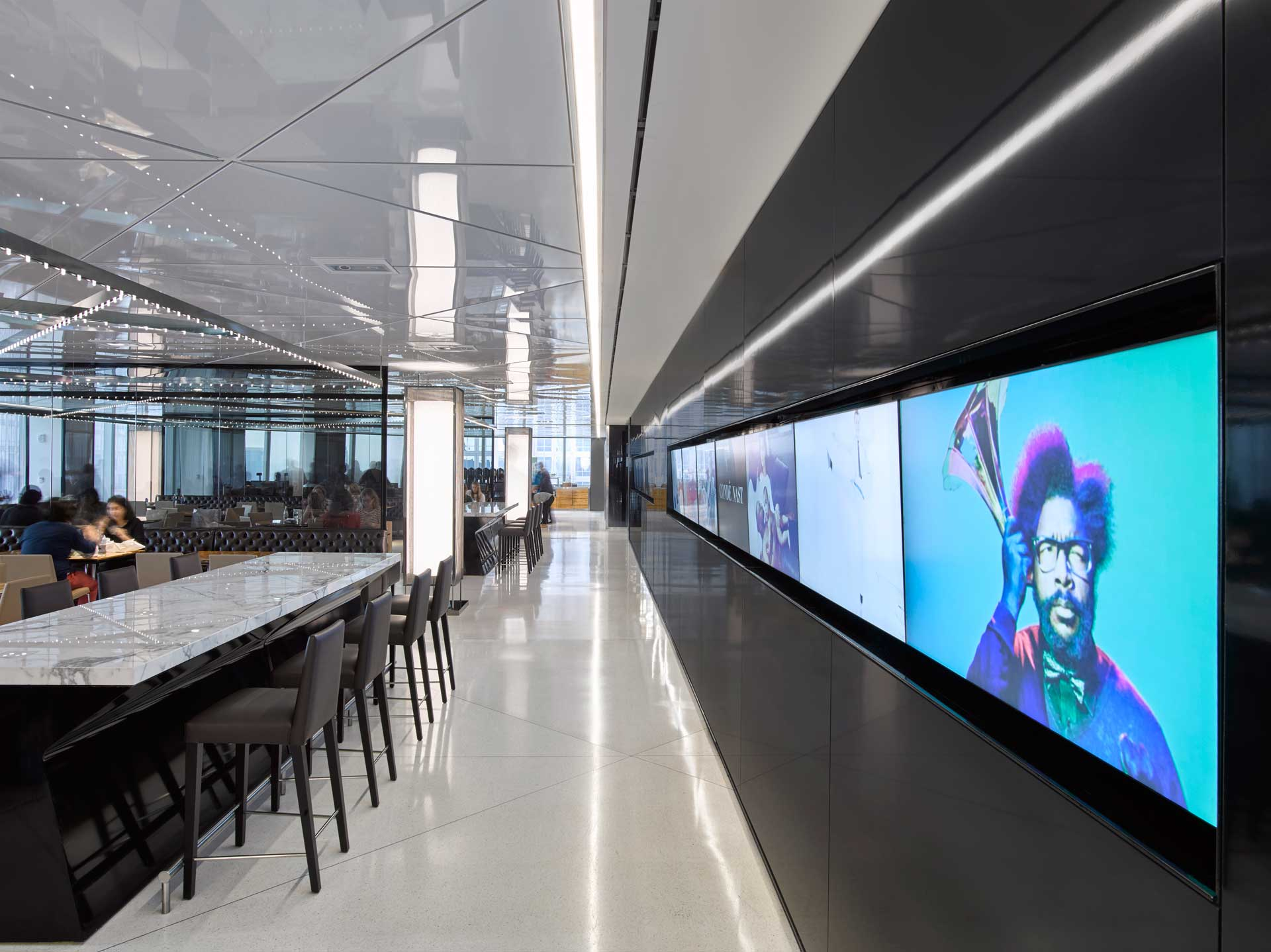 CONDE NAST 2015 NY NEWMAT Stretch Ceiling Amp Wall Systems