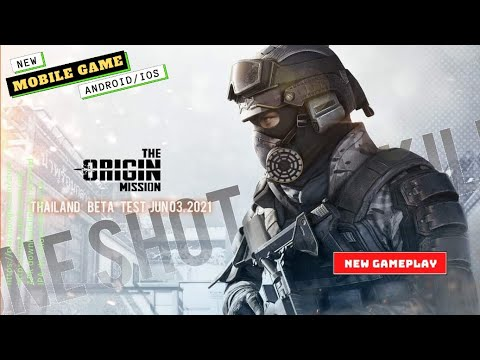 CS GO Mobile - The Origin Mission Gameplay   Mobile Games   New Games 2021