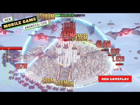 Mobile Games | Fortress Defense Gameplay | New Game 2021