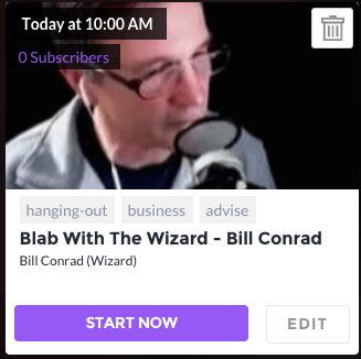 Learn To BLAB with Bill Conrad
