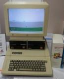 Apple IIe & Sprite Logo