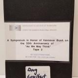 Douglas Engelbart Presentation, Video, MIT 1995
