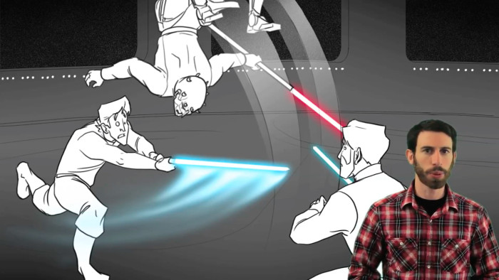 What if Star Wars Episode III Were Good maul duel
