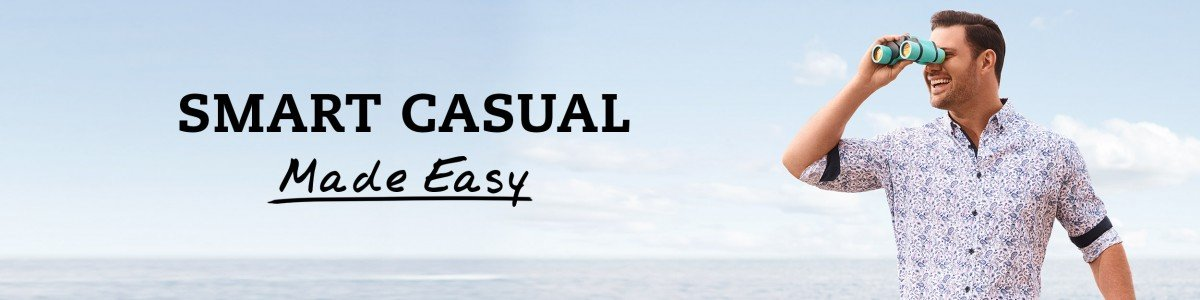 Smart Casual Dressing Style For Men