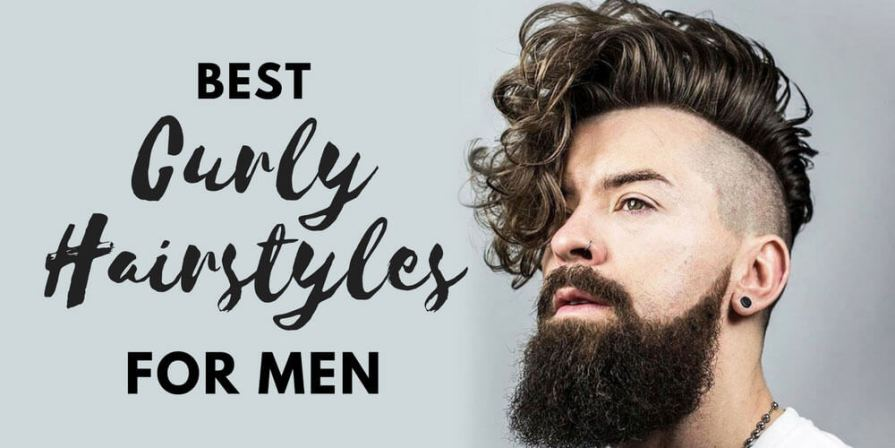 curly-wavy hairstyles and haircuts for men