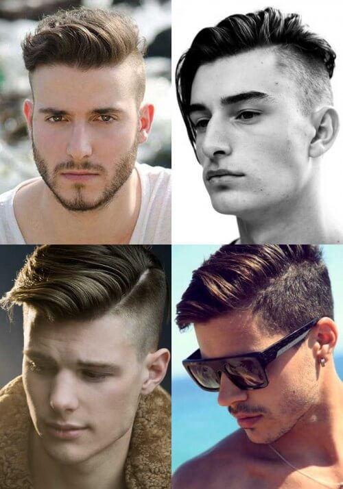 The Slicked Back Undercut Hairstyle