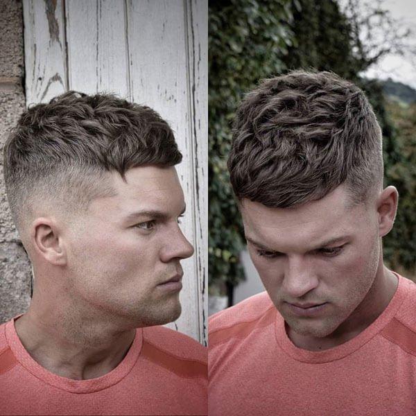 Short Textured Men's Haircuts