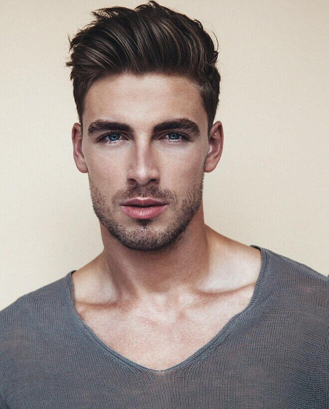 Classic Pompadour Hairstyle