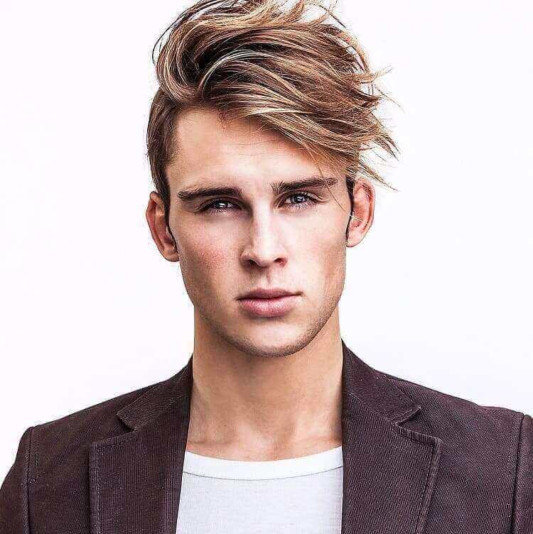 Blonde Hair Color for Men