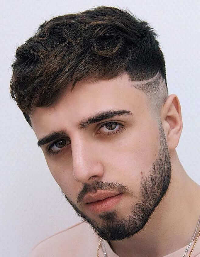 French Crop with Skin Fade